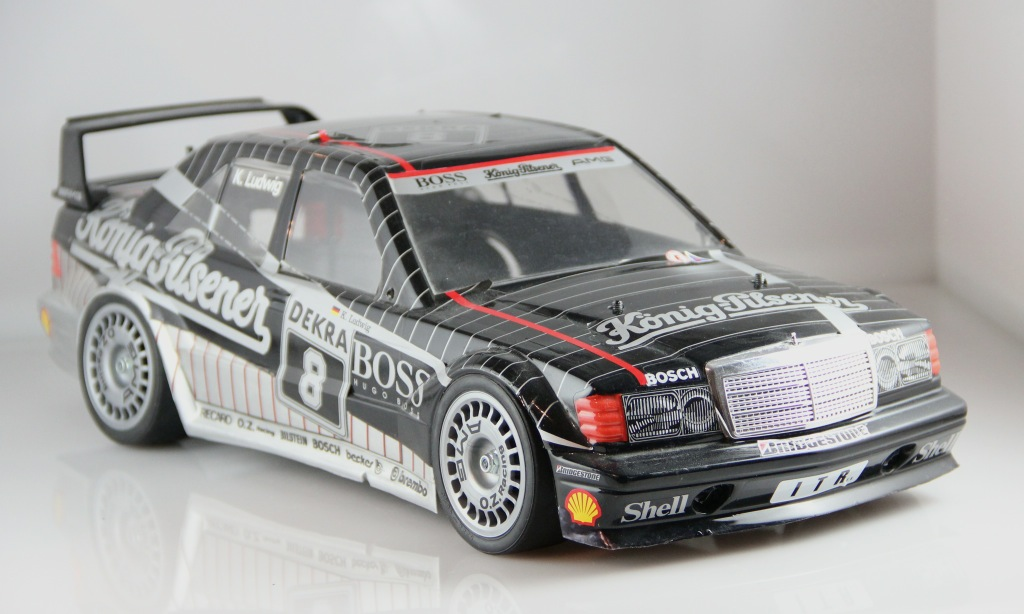 tamiya rc mercedes 190e evo ii dtm ludwig 1 10 karosse. Black Bedroom Furniture Sets. Home Design Ideas